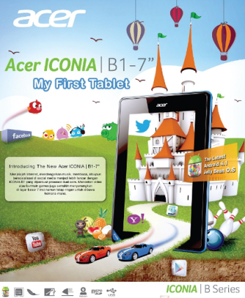 jual acer iconia b1-a71